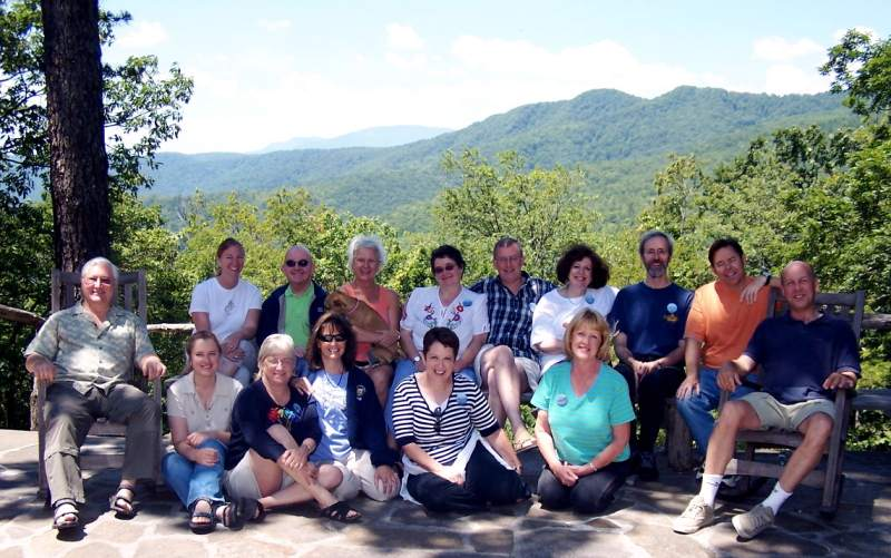 With the Wildacres Flute Retreat Faculty, Little Switzerland, NC